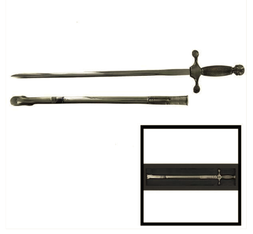 Vanguard AIR FORCE LETTER OPENER: USAF SWORD WITH SCABBARD