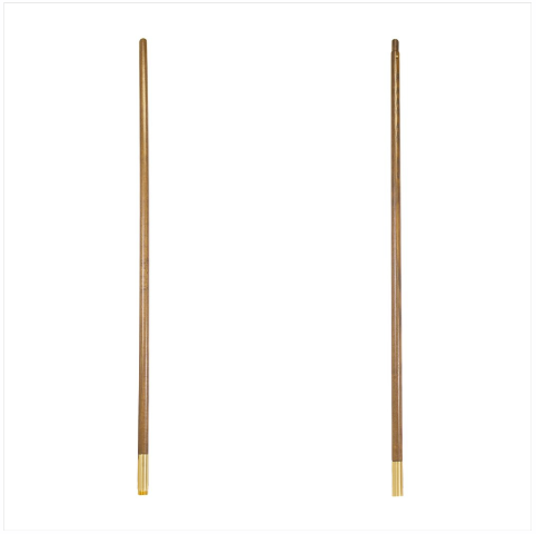 Vanguard FLAG POLE: OAK - JOINTED - 8 FOOT BY 1 INCH