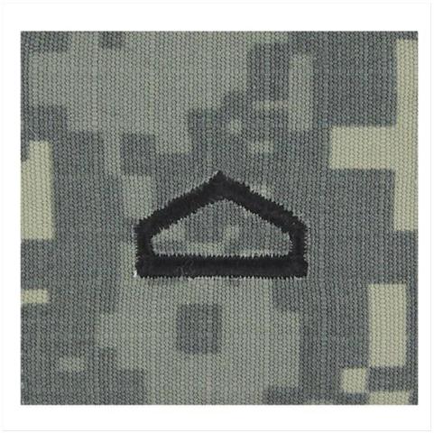 Vanguard ARMY ROTC ACU RANK W/HOOK CLOSURE : PRIVATE FIRST CLASS (PFC)