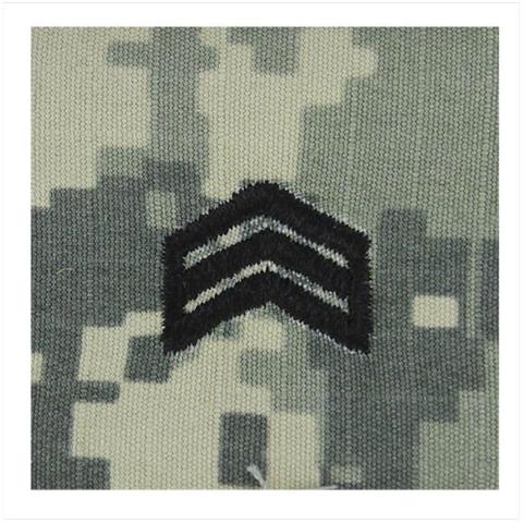 Vanguard ARMY ROTC ACU RANK W/HOOK CLOSURE : SERGEANT (SGT)