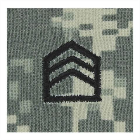 Vanguard ARMY ROTC ACU RANK W/HOOK CLOSURE: STAFF SERGEANT (SSGT)