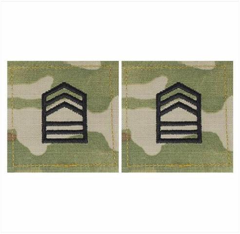 Vanguard ARMY ROTC OCP RANK W/HOOK CLOSURE : MASTER SERGEANT (MSTRSGT)