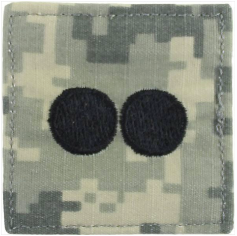 Vanguard ARMY ROTC ACU RANK INSIGNIA: FIRST LIEUTENANT (1LT)