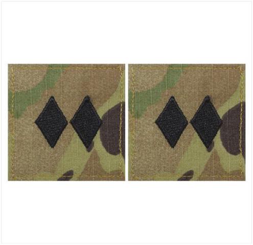 Vanguard ARMY ROTC OCP RANK W/HOOK CLOSURE : LIEUTENANT COLONEL (LTCOL)