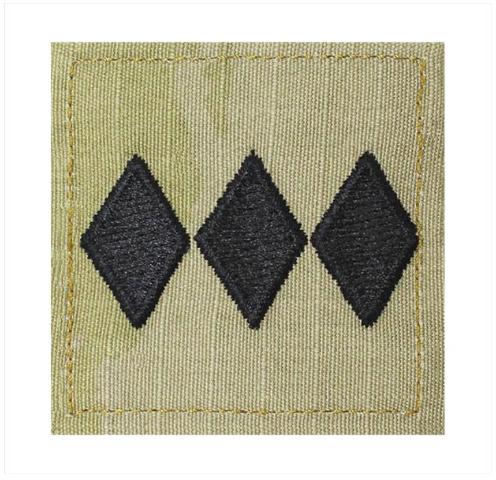 Vanguard ARMY ROTC OCP RANK W/HOOK CLOSURE : COLONEL (COL)