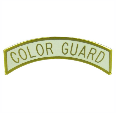 Vanguard ARMY ROTC ARC TAB: COLOR GUARD