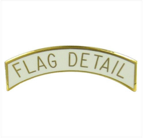 Vanguard ROTC ARC TAB: FLAG DETAIL