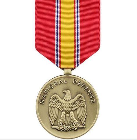 Vanguard Full Size National Defense (NDSM) Medal