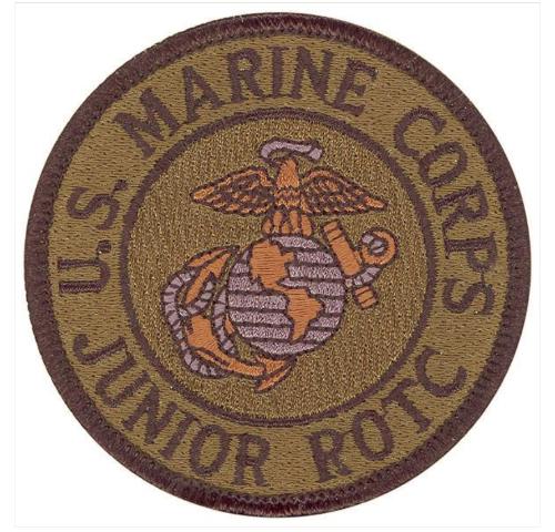 Vanguard MARINE CORPS JROTC PATCH - SUBDUED (NON-RETURNABLE)