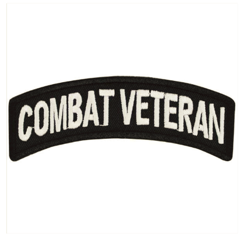 Vanguard VETERAN PATCH: COMBAT VETERAN