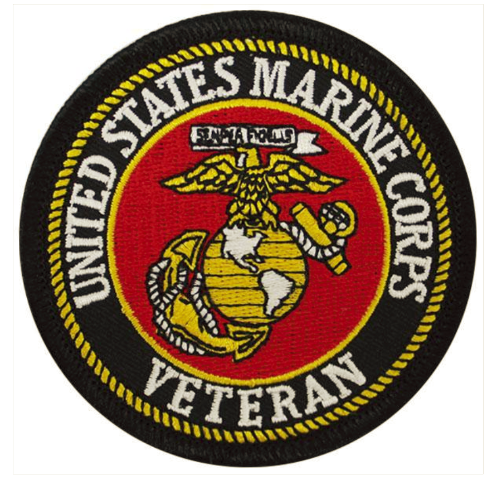 Vanguard VETERAN PATCH: US MARINE