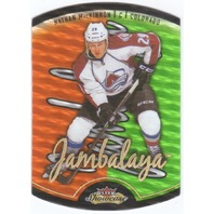 NATHAN MACKINNON 2013-14 Fleer Showcase Jambalaya Rookie RC #27JB 13/14