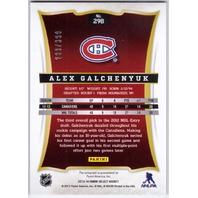 ALEX GALCHENYUK 2013-14 Panini Select #298 Rookie Auto Card 289/399
