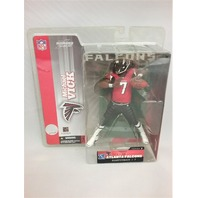 2003 Michael Vick Red Jersey Variant McFarlane Figure Atlanta Falcons Series 7