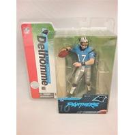 2004 Jake Delhomme NFL Variant McFarlane Series 10 Carolina Panthers Blue Jersey