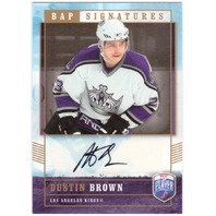 DUSTIN BROWN 2006-07 Upper Deck Be A Player Signatures BAP Signed Card  (x)
