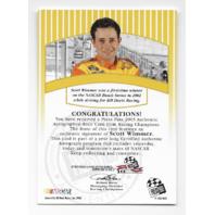 Scott Wimmer NASCAR 2003 Press Pass Signings auto Autograph  (x)