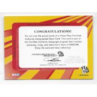 Travis Kvapil NASCAR 2004 Press Pass Authentics auto Autograph  (x)