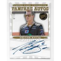 Trevor Bayne NASCAR 2013 Press Pass Fanfare auto /25 Autograph  (x)