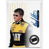 Ward Burton NASCAR 1999 Press Pass Authentics signings auto /500 Autograph