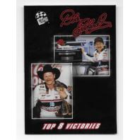 Dale Earnhardt NASCAR 2002 Press Pass Premium Top 8 Victories #DE 44