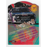 Dale Earnhardt NASCAR 1996 Wheels Viper First Strike die-cut /1399