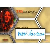 ROXXI LAVEAUX 2008 TriStar TNA Wrestling Impact Autograph Card Auto