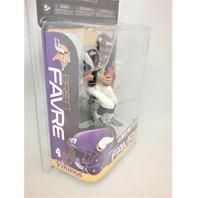 2010 Brett Favre McFarlane Figure Series 23 Purple Jersey Minnesota Vikings NFL