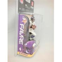 Brett Favre Variant White Jersey McFarlane Series 23 Minnesota Vikings Bronze