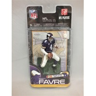 Brett Favre McFarlane Series 25 Minnesota Vikings Going Retro Vintage Uniform