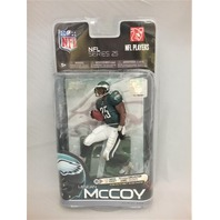 2010 LeSean McCoy McFarlane Series 25 Green Jersey Philadelphia Philly Eagles