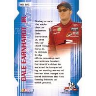 DALE EARNHARDT JR. 2003 Press Pass VIP Head Gear Die Cut Insert Card #HG2