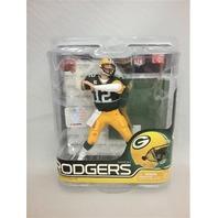 2011 Aaron Rodgers McFarlane Figure Green Jersey NFL Series 27 Green Bay Packers