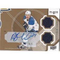 Patrik Berglund Double Diamond Jerseys Autograph Memorabilia 5/5 St Louis Blues Hockey