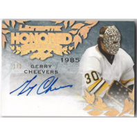 Gerry Cheevers  2015 Leaf Ultimate Honored Members Autograph 1/3