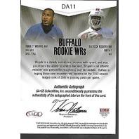 ROBERT WOODS/DA'RICK ROGERS 2013 SAGE NEXT Buffalo Rookie WRs auto /40 autograph