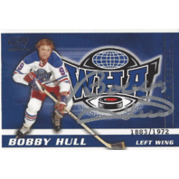 Bobby Hull 2004 Pacific WHA Legends On Card Autograph /1972