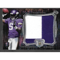 TEDDY BRIDGEWATER 2014 Topps Sterling RC jumbo patch /25 2 colors