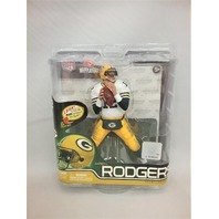 2012 Aaron Rodgers McFarlane Figure White Jersey NFL Series 30 Green Bay Packers
