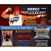 2012 Tristar TNA Impact Reflexxions Wrestling Hobby Box (Sealed) 1732/2400