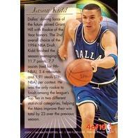 JASON KIDD 1995-96 Fleer Ultra All-Rookie Team Insert Card #4 95/96