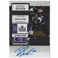 Brayden Schenn 2010-11 Playoff Contenders Season Ticket Rookie Autograph Auto