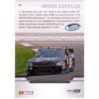 JASON LEFT TURN LEFFLER 2012 Press Pass Purple Foil Parallel Card #41 13/35