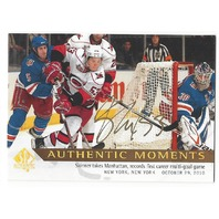 Jeff Skinner 2012-13 SP Authentic Moments Limited Gold Autograph #154 Auto 12/13