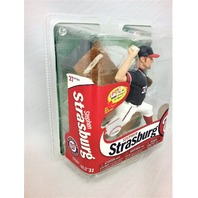 STEPHEN STRASBURG 2013 McFarlane MLB 31 Figure Blue Jersey Washington Nationals