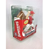 2013 Stephen Strasburg Red Jersey Variant McFarlane's Sportspick Figure MLB 31 Washington Nationals Major League Baseball