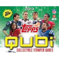 2013 Topps Qubi Football Stamper Pack