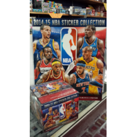 2014/15 Panini NBA 5 Pack Sticker Collection w/72 Page Album