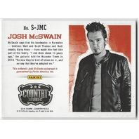 Josh McSwain 2014 Panini Country Music Authentic Signatures Blue  #S-JMC /199