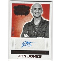 Jon Jones 2014 Panini Country Music Authentic Signatures #S-JOJ /394